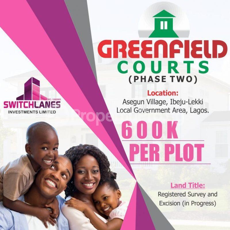 Residential Land Land for sale Asegun, Igbogun Road Epe Lagos - 0