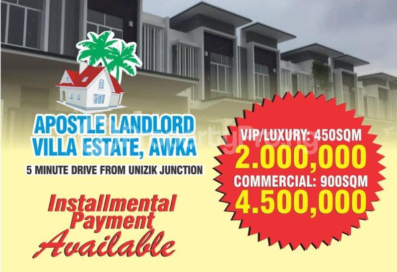Mixed   Use Land Land for sale 3 minutes from UNIZIk Awka  Awka South Anambra - 0