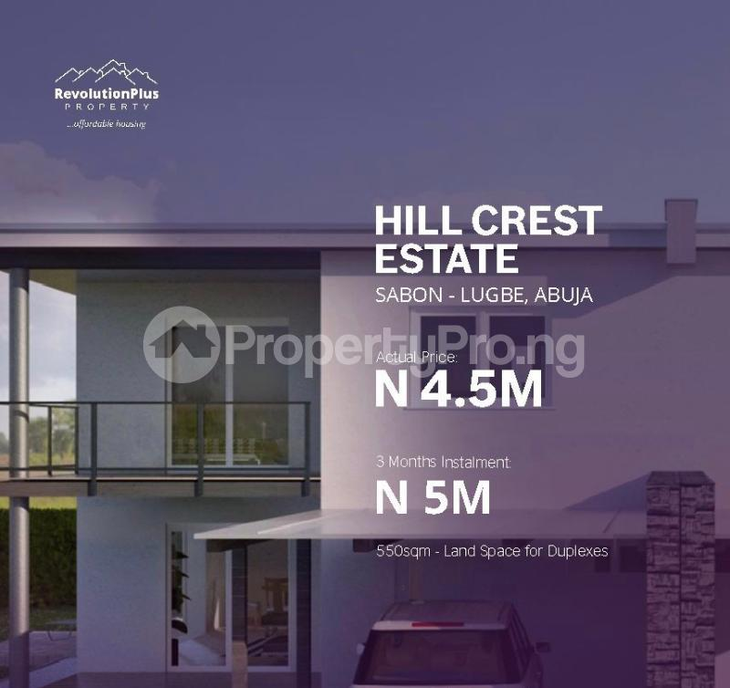 Serviced Residential Land Land for sale Sabon Lugbe Off Airport Road  Lugbe Abuja - 0