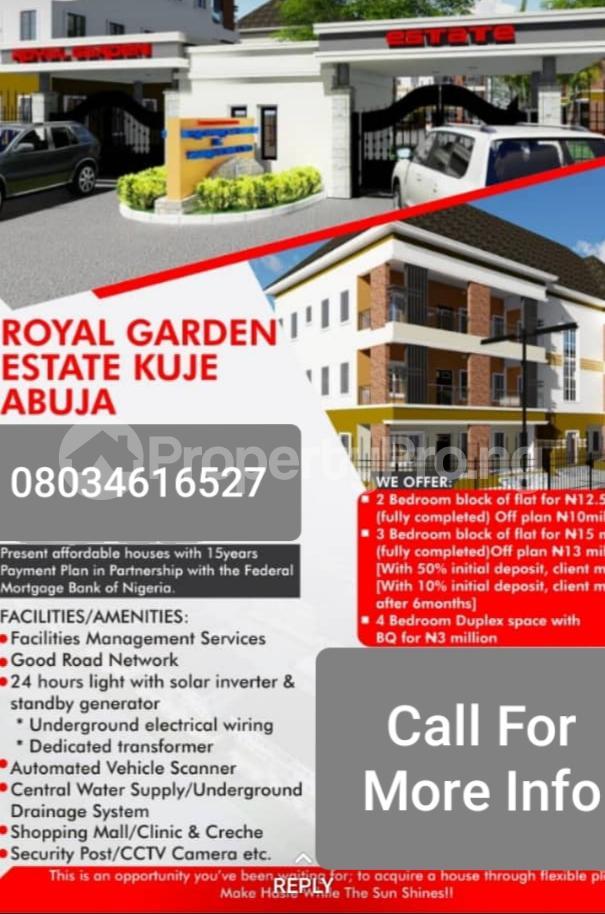 4 bedroom Residential Land Land for sale Estate sector C plot 126 Gudaba kuje Abuja behind Centenary city   Kuje Abuja - 7