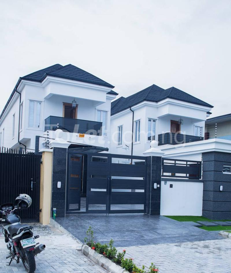 5 bedroom House for sale About 6 mins drive from circle mall, osapa london Osapa london Lekki Lagos - 0