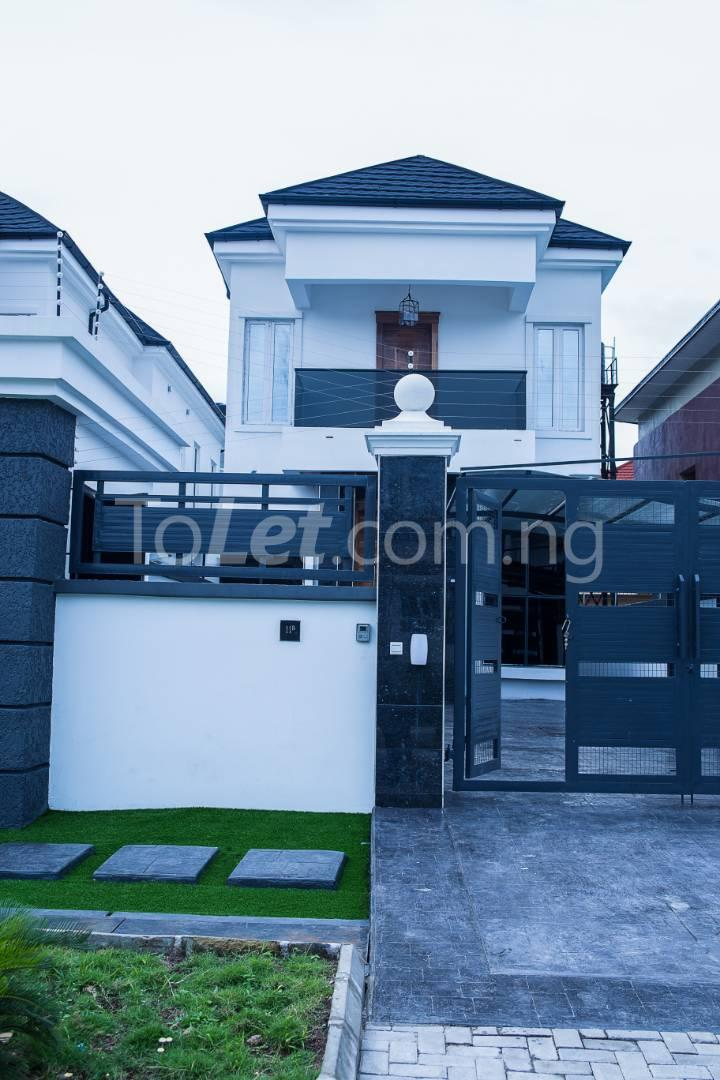 5 bedroom House for sale About 6 mins drive from circle mall, osapa london Osapa london Lekki Lagos - 11