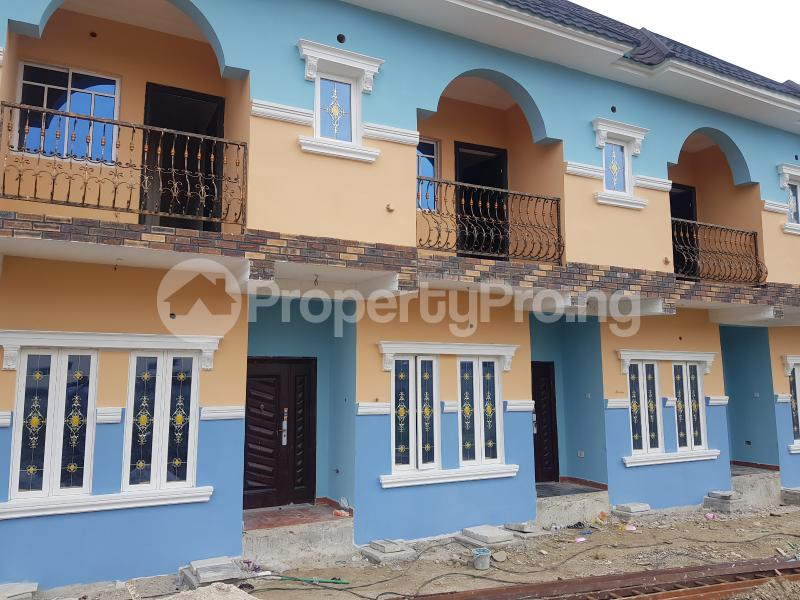 2 bedroom Terraced Duplex House for rent Stadium road close to Charlie's gym New GRA Port Harcourt Rivers - 1