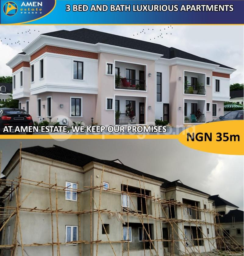 3 bedroom Self Contain Flat / Apartment for sale Eleko Beach Road off Lekki Epe Express road. Ibeju Lekki Axis, Lagos Eleko Ibeju-Lekki Lagos - 0