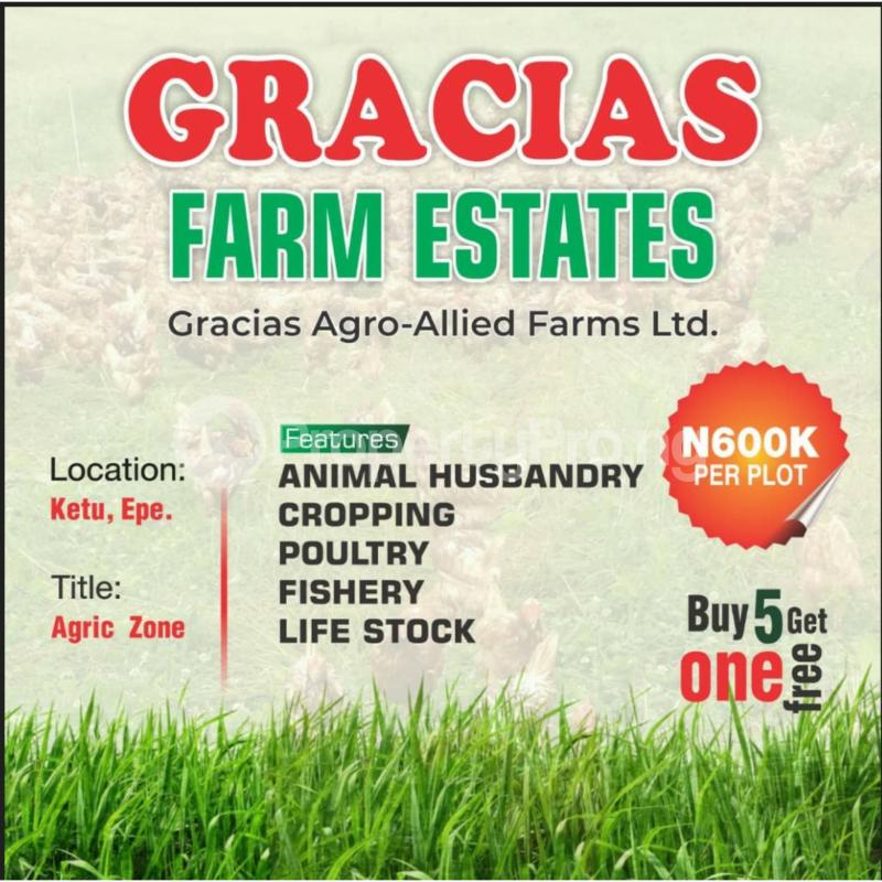Commercial Property for sale Ketu,  Epe Lagos Epe Lagos - 0