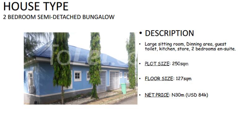 2 bedroom House for sale Plot 70 Kafe district behind Gwarimpa Kafe Abuja - 1