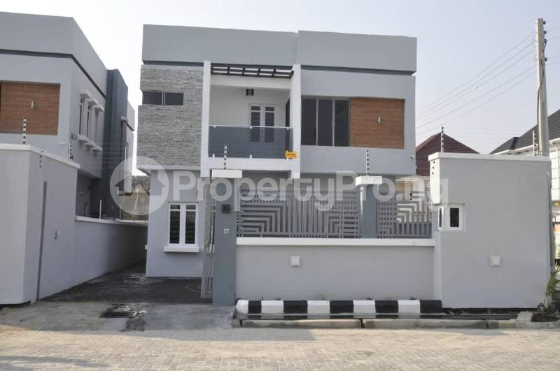 4 bedroom Detached Duplex House for sale Palm City Estate. Overlooking VGC Lagoon VGC Lekki Lagos - 10