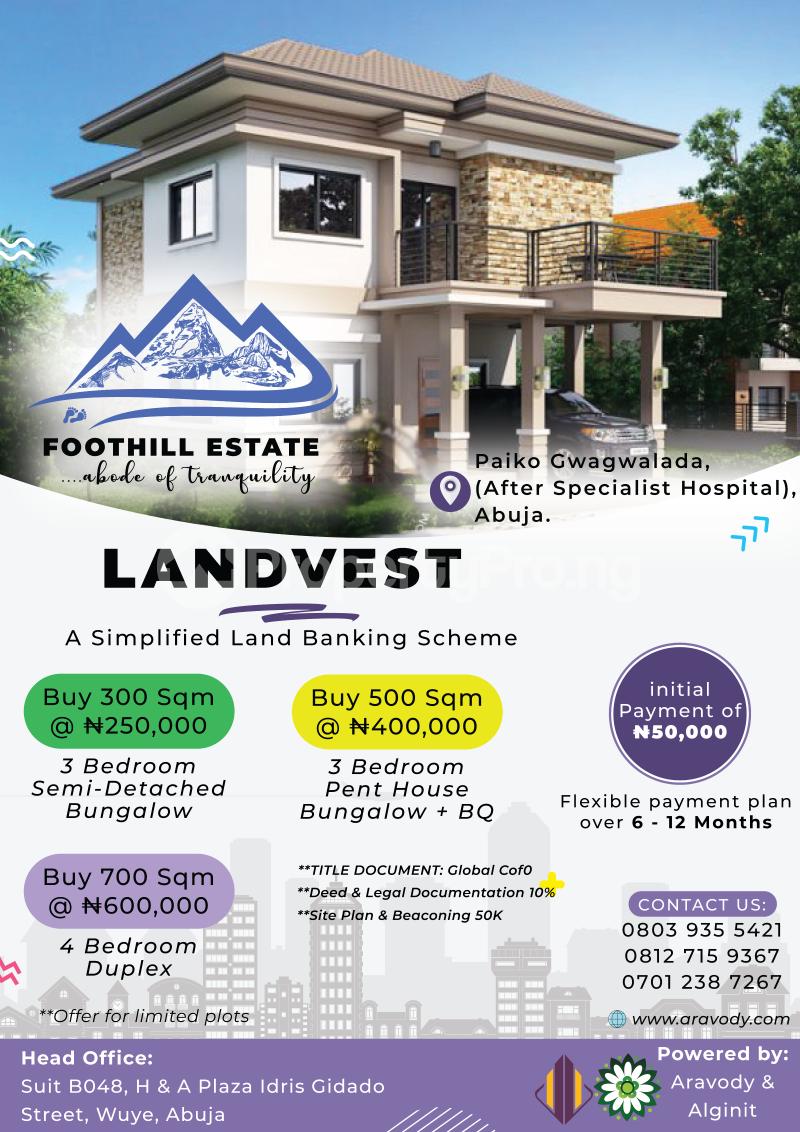 Mixed   Use Land Land for sale Gwagwalada Abuja - 0