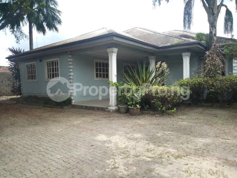 4 bedroom Detached Bungalow House for sale Ada George Magbuoba Port Harcourt Rivers - 1