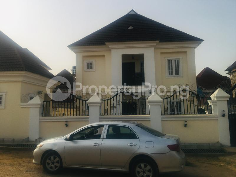 4 bedroom Detached Duplex House for sale Estate off airport road,  Lugbe Abuja - 0