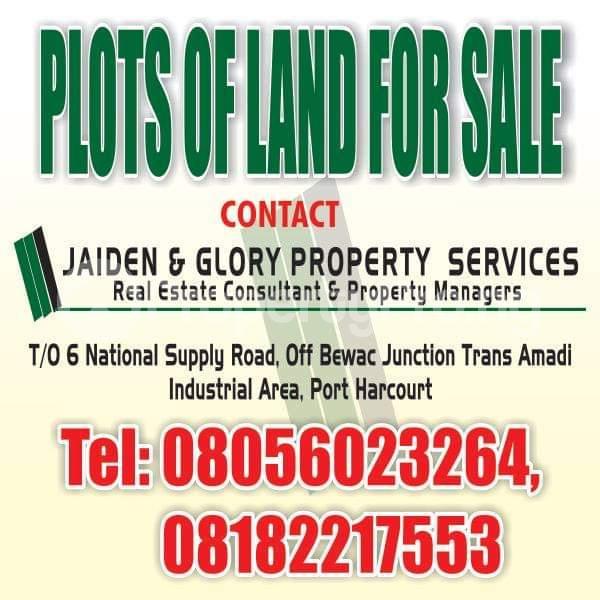 Residential Land Land for sale Paradise Estate Eliozu Port Harcourt Rivers - 1