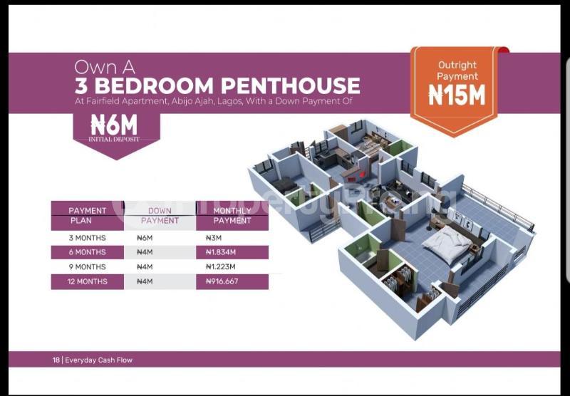 2 bedroom Blocks of Flats House for sale Abijo Sangotedo Lagos - 9