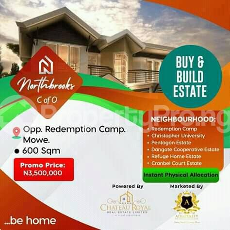 Residential Land Land for sale Opposite the RCCG Redemption Camp Mowe Obafemi Owode Ogun - 6