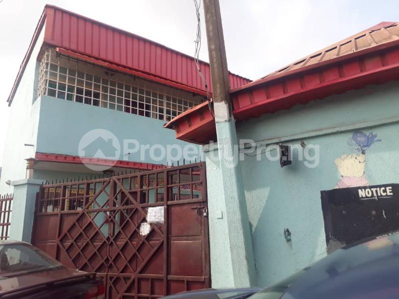 1 bedroom mini flat  School Commercial Property for sale Agege iyanalpaja. orile agege Agege Lagos - 0