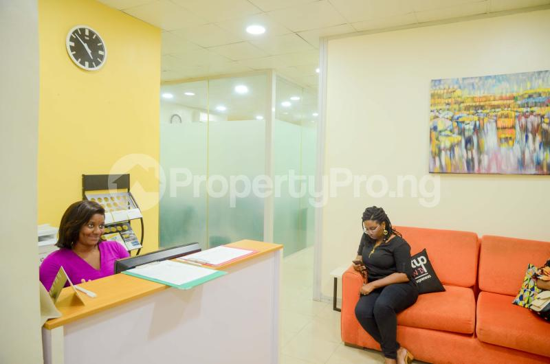 Private Office Co working space for rent 2nd Floor, Garnet Building Igbo-efon Lekki Lagos - 8