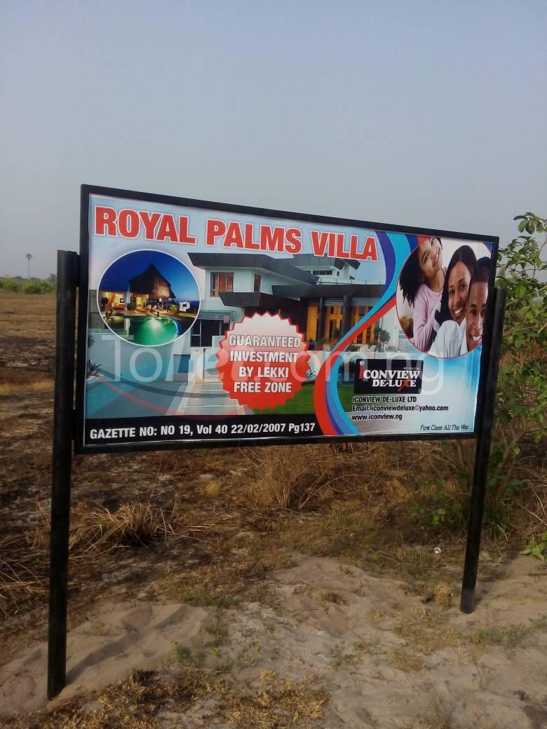 Land for sale SHIRIWON TOWN Free Trade Zone Ibeju-Lekki Lagos - 0