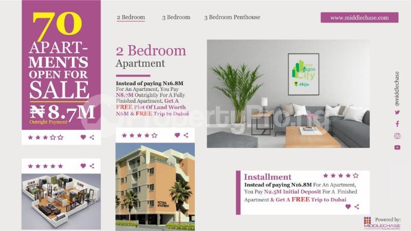 2 bedroom Penthouse Flat / Apartment for sale ABIJO G.R.A  Majek Sangotedo Lagos - 1
