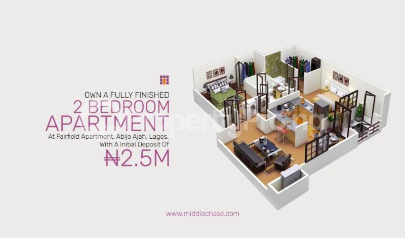 2 bedroom Penthouse Flat / Apartment for sale ABIJO G.R.A  Majek Sangotedo Lagos - 4