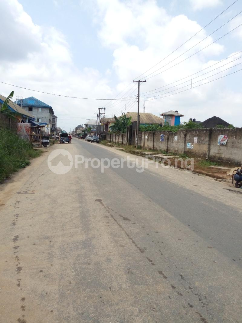 Commercial Land Land for sale New Rd Ada George Port Harcourt Rivers - 1