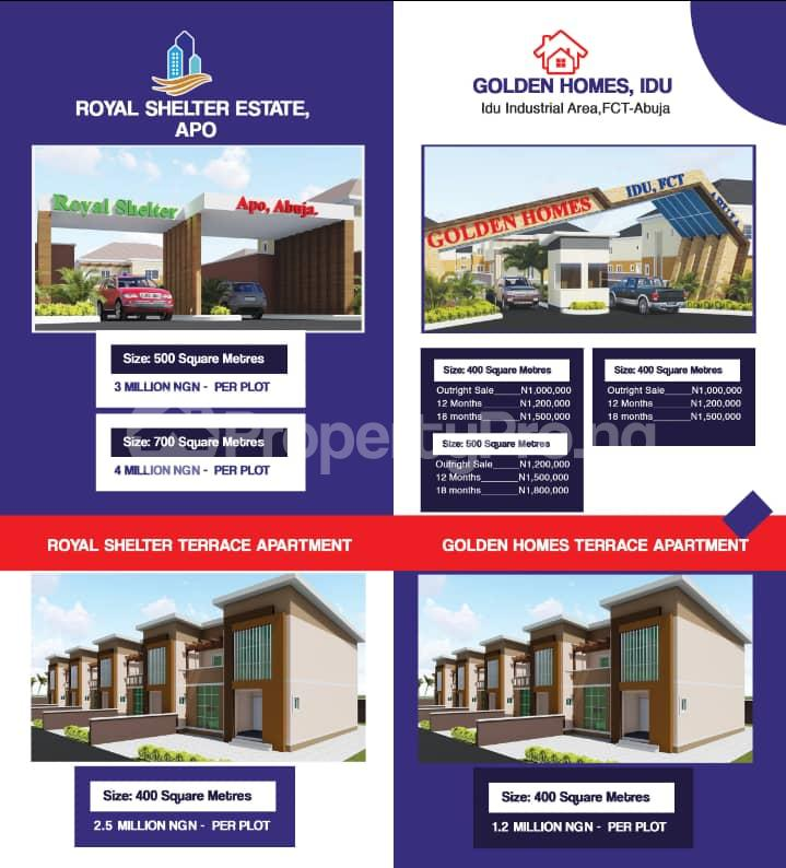 3 bedroom Residential Land Land for sale Idu industrial Area. FCT Abuja Idu Abuja - 0