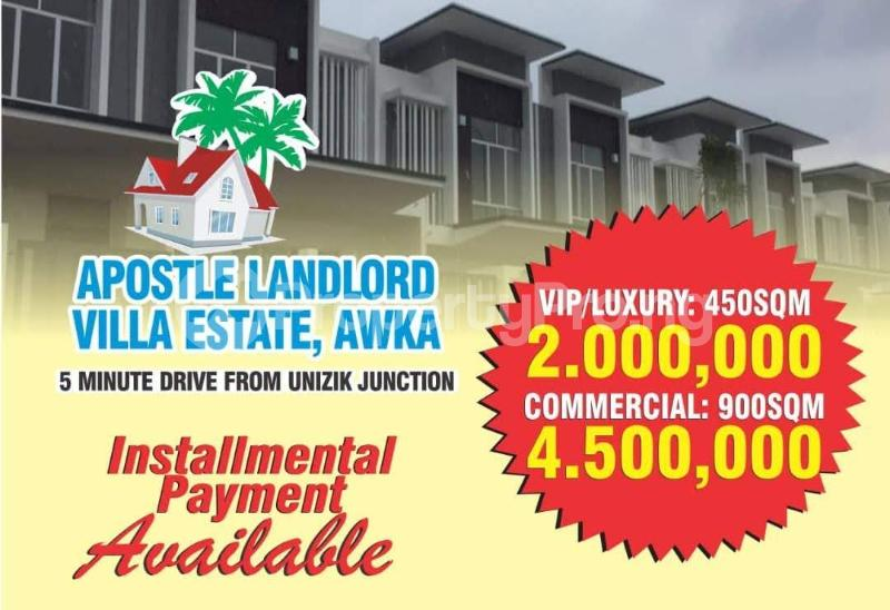 Residential Land Land for sale 5 Minutes drive from UNIZIK JUNCTION Awka North Anambra - 1