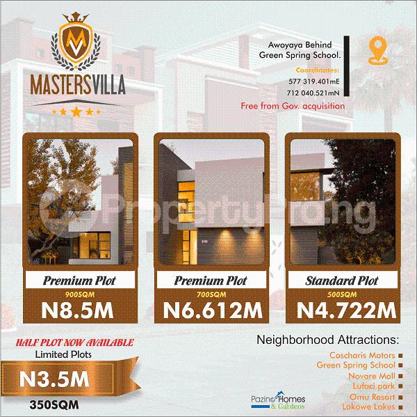 Mixed   Use Land Land for sale Awoyaya Ajah Lagos - 1