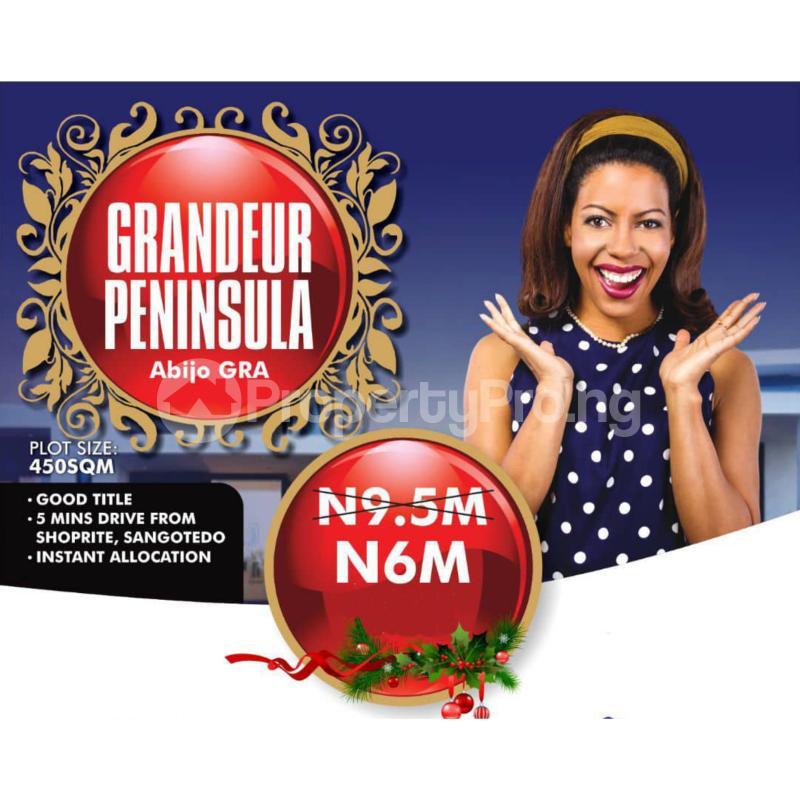 Residential Land Land for sale Abijo Ajah Lagos - 1