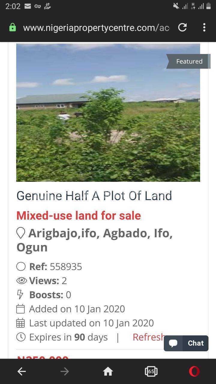 Residential Land Land for sale Arigbajo, Ifo Agbado Ifo Ogun - 3