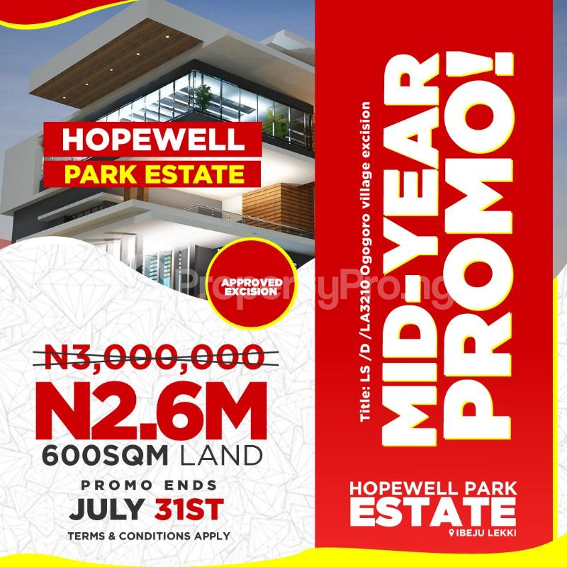 Land for sale Hopewell Park Estate is located Some minutes away from the multi billion dollar Dangote refinery and Some minute to La Campagne tropicana resort. LaCampaigne Tropicana Ibeju-Lekki Lagos - 5