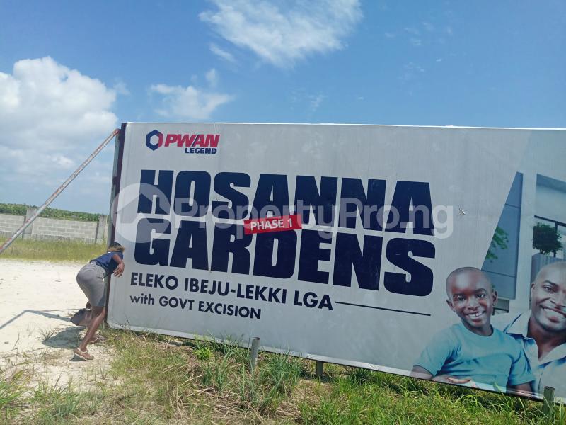 Mixed   Use Land Land for sale Eleko Ibeju-Lekki Lagos - 0