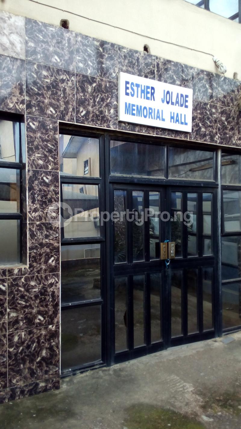 Event Centre Commercial Property for sale Akowonjo road, egbeda. Egbeda Alimosho Lagos - 3