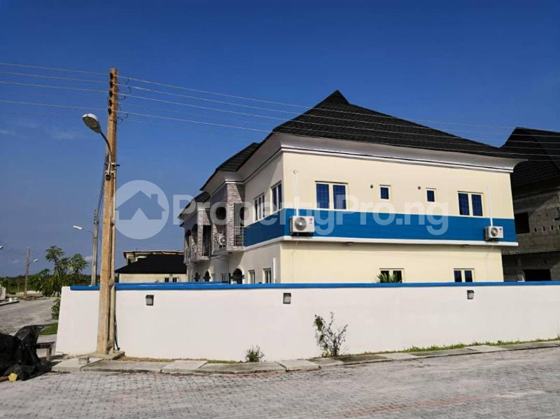5 bedroom Semi Detached Duplex House for sale 15 minute drive from Jubilee Bridge lekki lagos  Abraham adesanya estate Ajah Lagos - 0