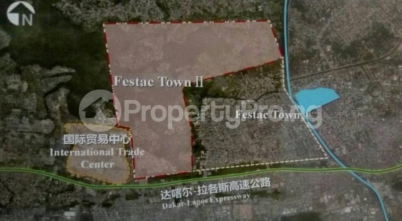 Serviced Residential Land Land for sale Egolima district, 7th avenue festac, Lagos Festac Amuwo Odofin Lagos - 1