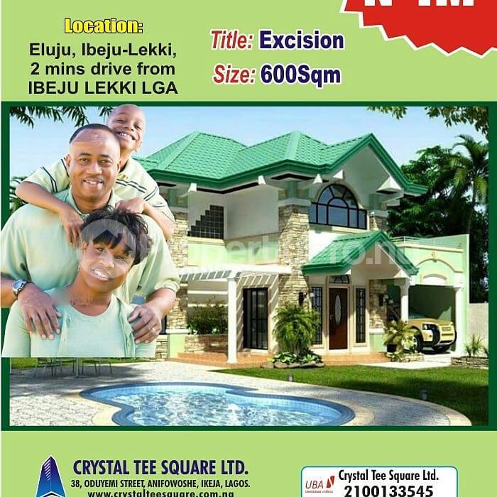 Residential Land Land for sale Alone Ibeju lekki Local Govt Area. Eluju Ibeju-Lekki Lagos - 2