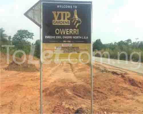 Land for sale Along Abia Road, Agbala by seat of wisdom seminary,  Ngor-Okpala Imo - 1