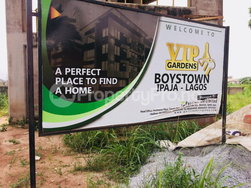 Residential Land Land for sale P and T bus stop .... Boys Town ipaja  Ipaja road Ipaja Lagos - 16