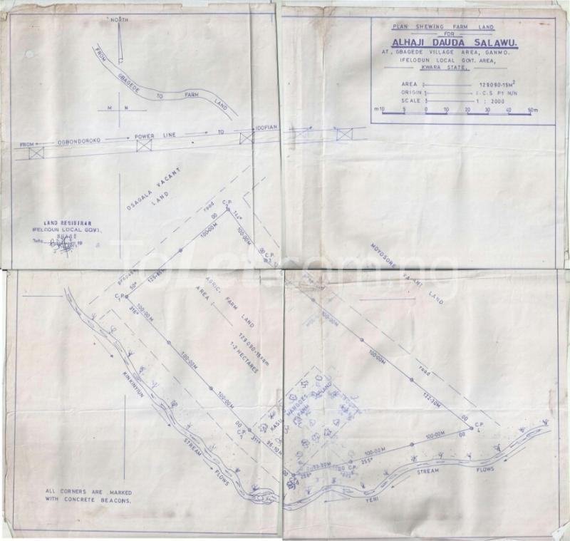 Land for sale Gbagede, Kabba Road Ganmo Ilorin Kwara - 0