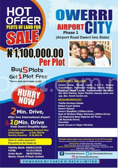 Mixed   Use Land Land for sale Airport Road Ngor-Okpala Imo - 3