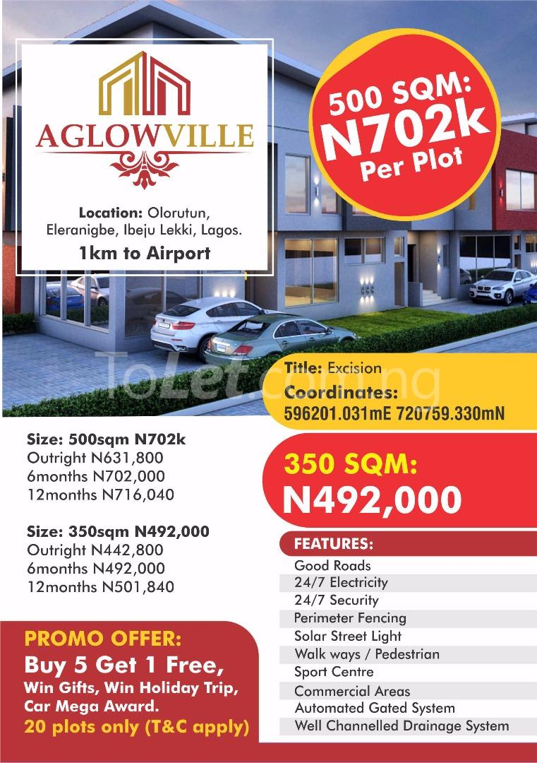 Land for sale AGLOW VILLE Eleranigbe Ibeju-Lekki Lagos - 4
