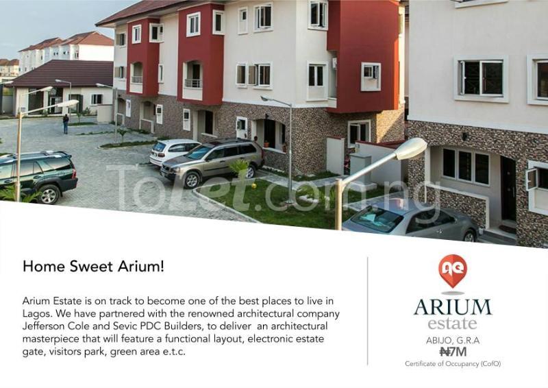 Land for sale Ajah , Lagos, Arium Estate Abijo Ajah Lagos - 0