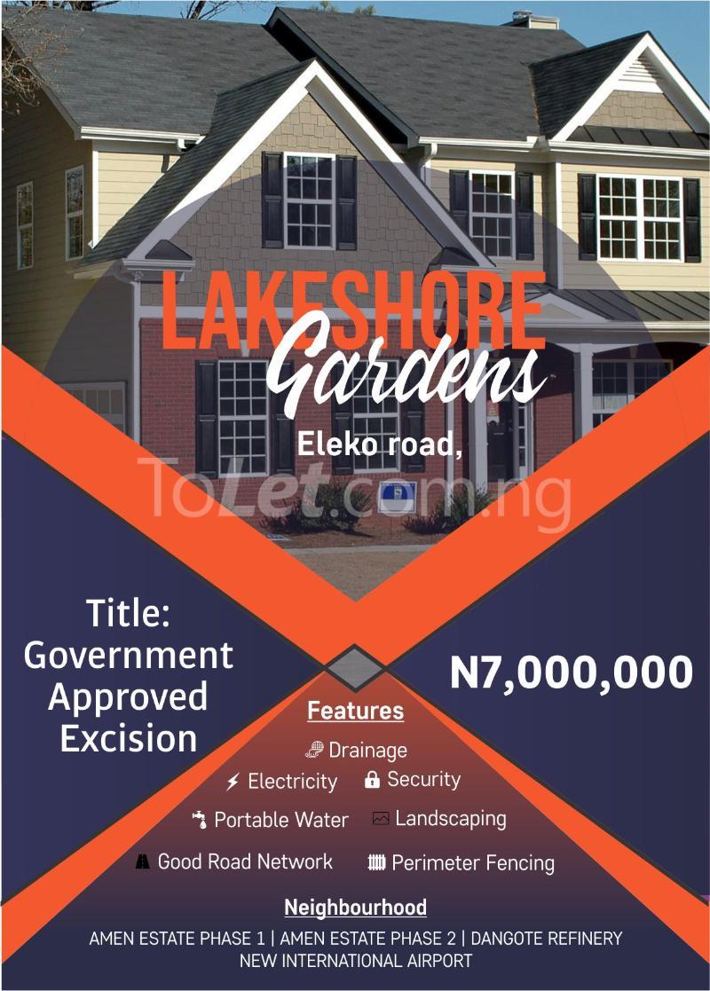 Mixed   Use Land Land for sale Eleko Road Eleko Ibeju-Lekki Lagos - 4