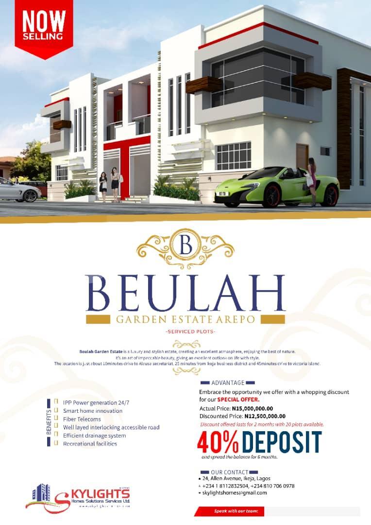 Serviced Residential Land Land for sale Inside Orange Estate Arepo Arepo Ogun - 1