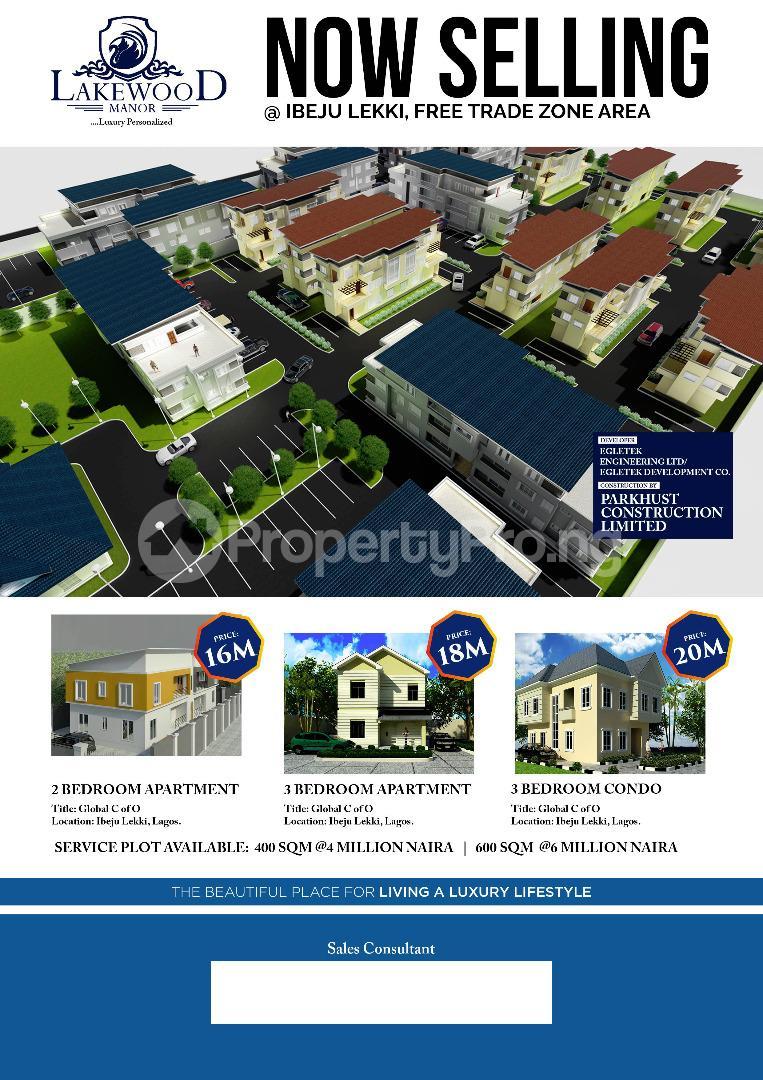 Residential Land Land for sale Ibeju-Lekki Free Trade Zone Ibeju-Lekki Lagos - 1