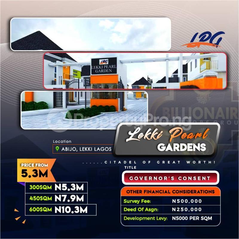 Residential Land Land for sale Abijo Ibeju-Lekki Lagos - 0