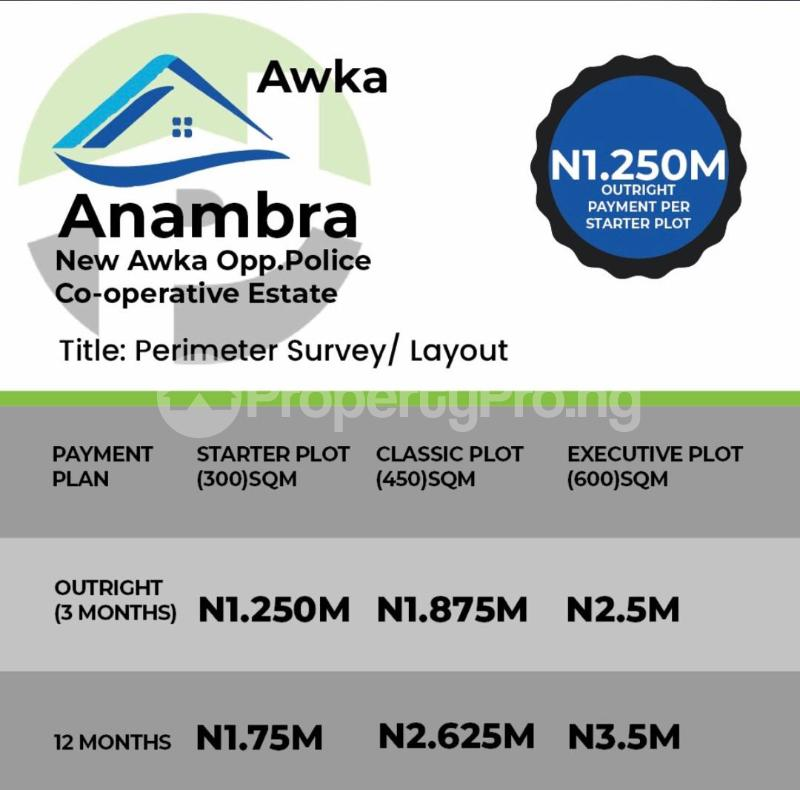Residential Land Land for sale New Awka Opposite Police Corperative Estate  Awka South Anambra - 0