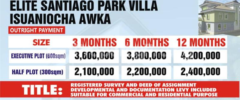Mixed   Use Land Land for sale Isuaniocha, Awka Anambra State Awka North Anambra - 0