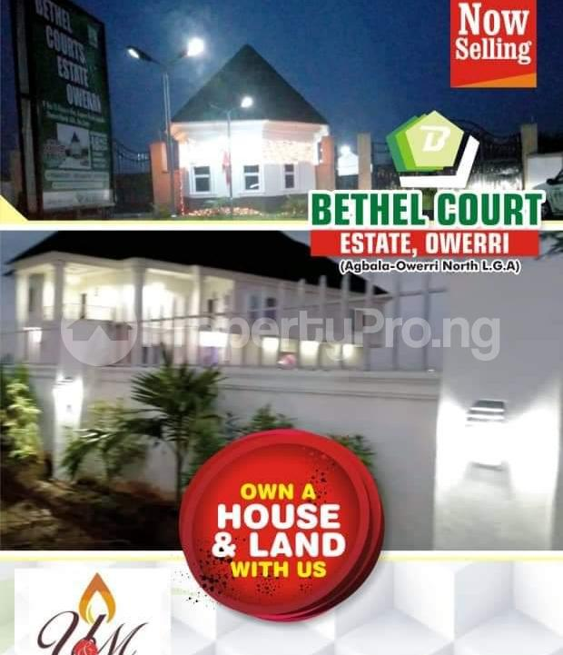 Residential Land Land for sale Bethel Courts Estate Is Located In Owerri Agbala Owerri North LGA Imo State Nigeria  Owerri Imo - 0