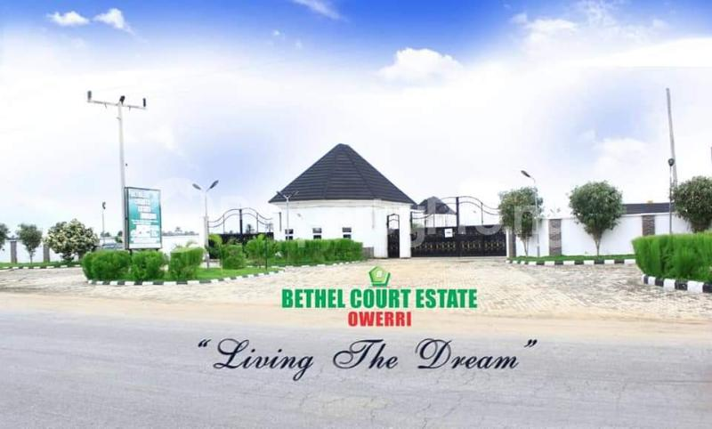 Residential Land Land for sale Bethel Courts Estate Is Located In Owerri Agbala Owerri North LGA Imo State Nigeria  Owerri Imo - 1