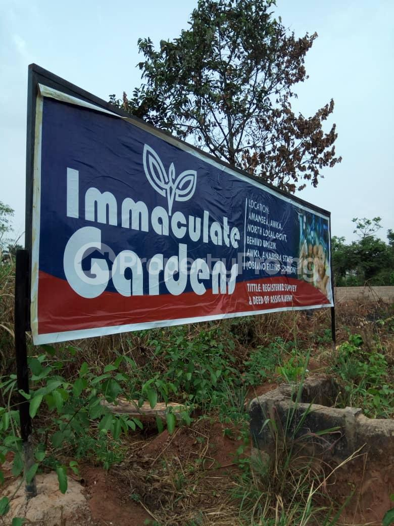 Residential Land Land for sale Back of unizik Anambra Anambra - 0