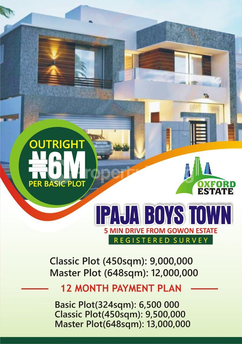 Mixed   Use Land Land for rent - Boys Town Ipaja Lagos - 0